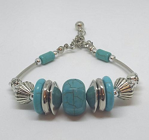 Noa 514 turquoise stone bracelet.