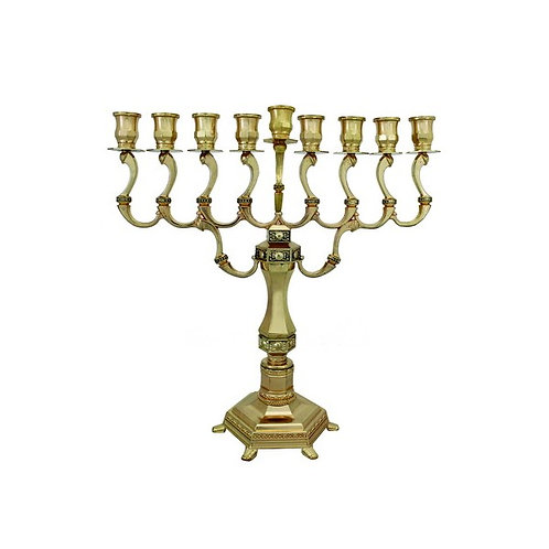 "Luxurious Menorah - ""Queen of Shabbat"""