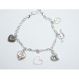 Hearts Bracelet for leg (anklets)