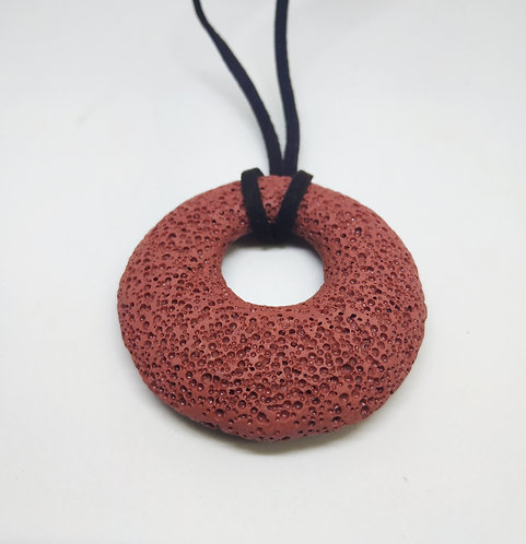 Volcano stone necklace -  Golan Heights