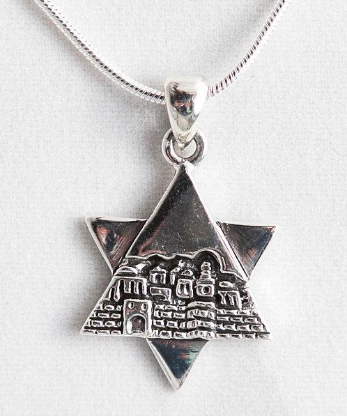 Star of David - Jerusalem view