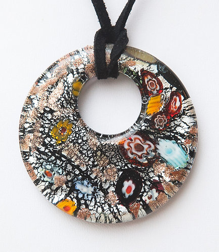 Special round Murano Glass necklace