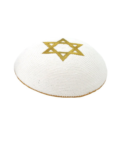 2 Star of David Kippah