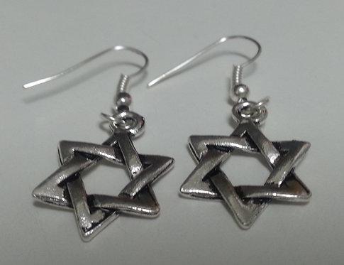 Inbar's Star of David Earrings