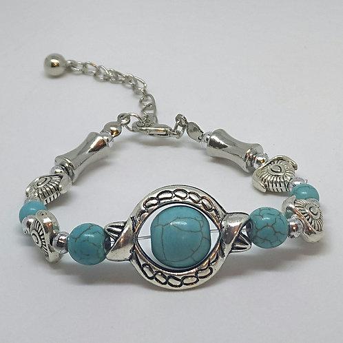 Noa 515  turquoise stone bracelet.
