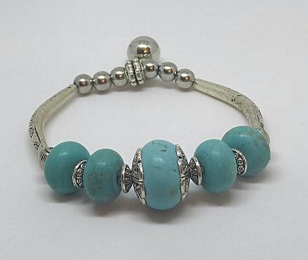 Noa 517  turquoise stone bracelet.