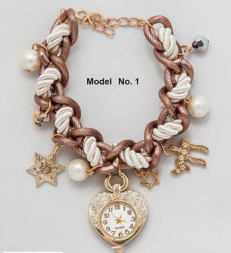 Interwoven Bracelet Watch - 3 models