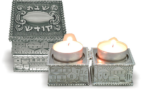 "Candlesticks ""To Go"" - Engraving!"
