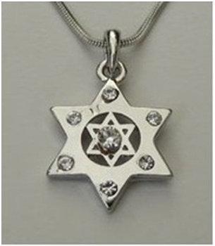 Double Star of David with Zircons