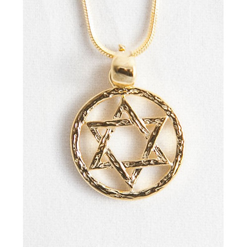 Circle round the Star of David