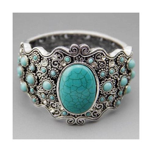 Special Design 1234 Turquoise Bracelet