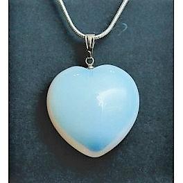 Real Opalit heart
