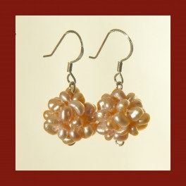Bundle of Pearls earrings (short)