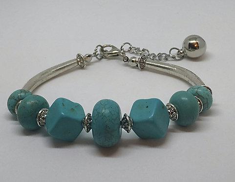 Noa 518  turquoise stone bracelet.