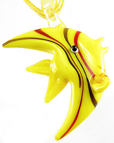 Murano Glass - Fish necklace