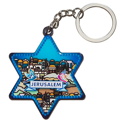 2 Key chain - View of Jerusalem