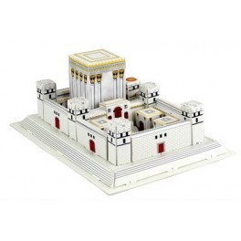 3D puzzle of The Holy Temple - easy