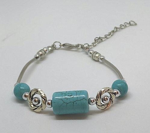 Noa 511  turquoise stone bracelet.