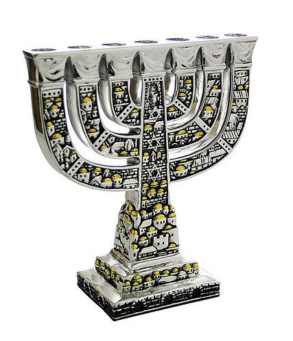 Jerusalem Menorah - 7 Candles