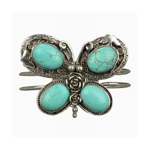Butterfly Turquoise Bracelet