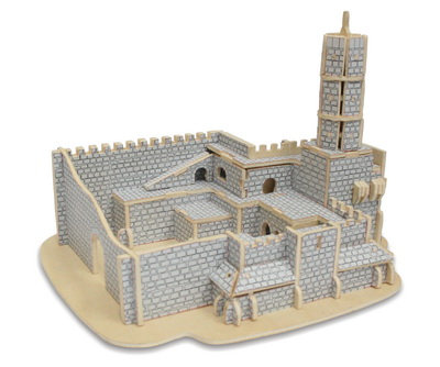 3D wooden puzzle - Tower of David