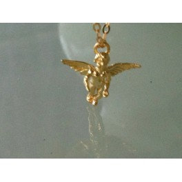 Cupid of Love - 24k Gold necklace