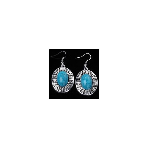 Turquoise Earrings Design 1178