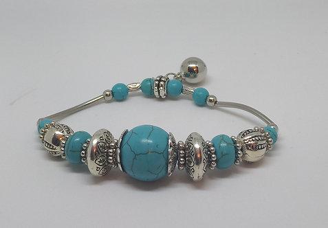 Noa 520  turquoise stone bracelet.