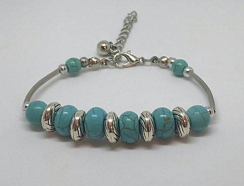 Noa 512  turquoise stone bracelet.
