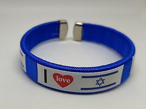 I love Israel bracelet (3 pieces for 18$)