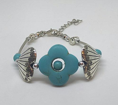 Noa 516  turquoise stone bracelet.