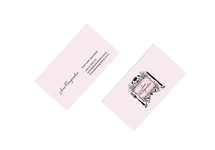 Jane Rangiwahia Business Cards