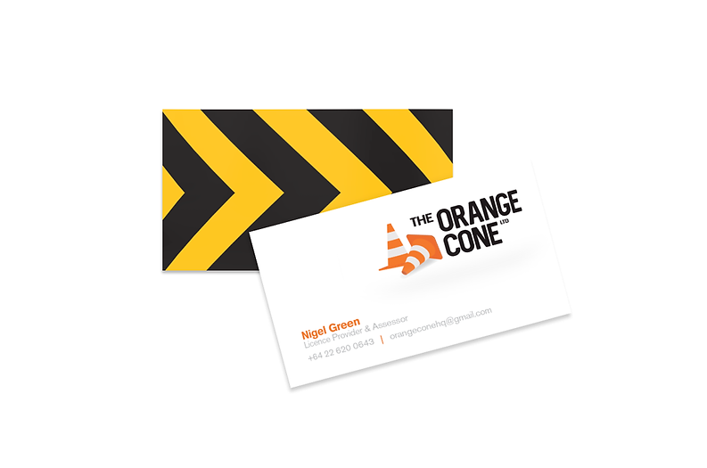The Orange Cone Business Cards