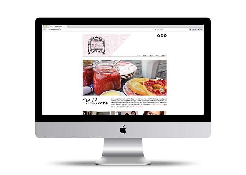Jane Rangiwahia Website