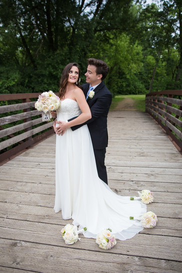 Bride and Groom Rock Cut Park Photography