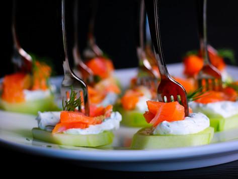 GRAVLAX (salt-cured salmon)
