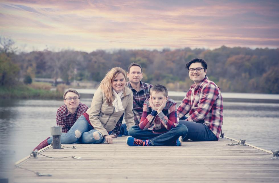 Family Photo Session Rock Park Rockford