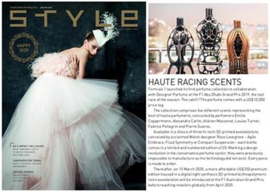 Style Magazine | Ferg & Friends Public Relations | F1 Fragrances
