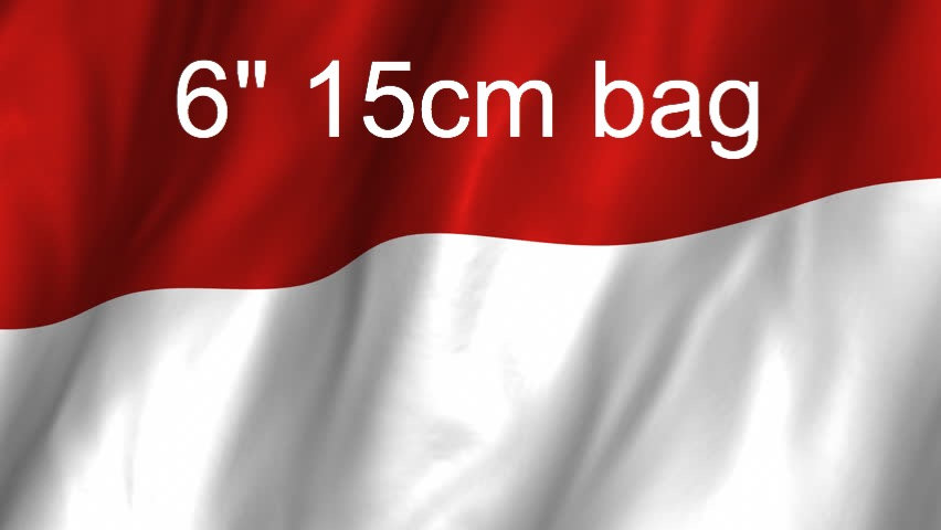 6 inch 15cm Bag from Indonesia