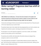 Europsport | Ferg & Friends Public Relations | F1 Fragrances
