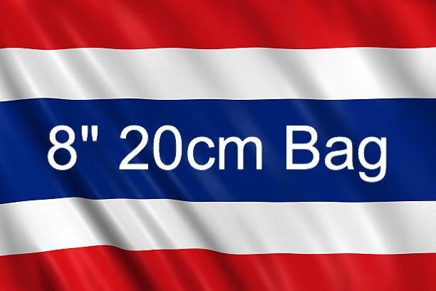 8inch 20cm bag from Thailand