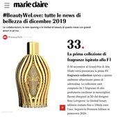 Marie Claire | Ferg & Friends Public Relations | F1 Fragrances