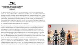 Yanko Design | Ferg & Friends Public Relations | F1 Fragrances