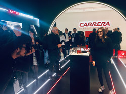 Milano, Mido Fair: Carrera meet & greet with Tatiana Calderón