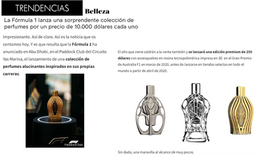 Trendencias | Ferg & Friends Public Relations | F1 Fragrances