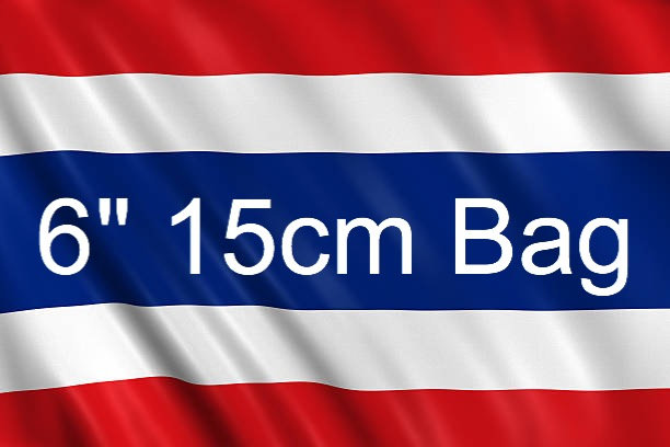 6inch 15cm bag from Thailand