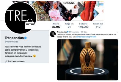 Trendencias Twitter | Ferg & Friends Public Relations | F1 Fragrances