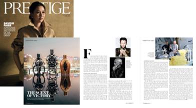 Prestige | Ferg & Friends Public Relations | F1 Fragrances