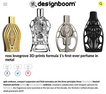 Design Boom | Ferg & Friends Public Relations | F1 Fragrances