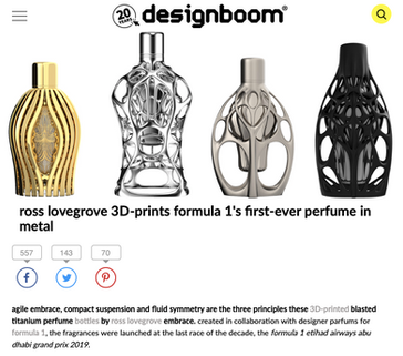 Design Boom | Ferg & Friends Public Relations | F1 Fragrances